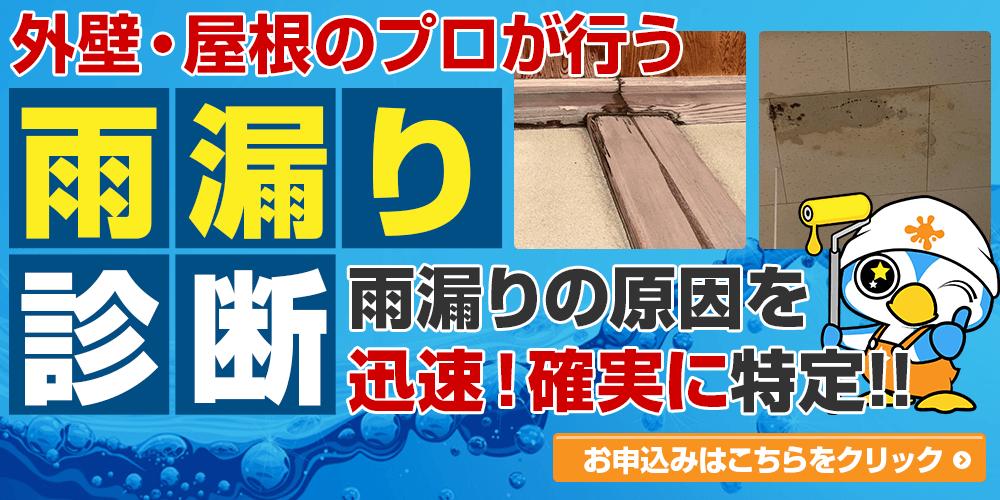 雨漏り診断!!